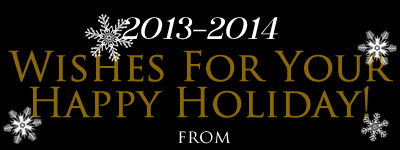 Wishes for your happy holidays